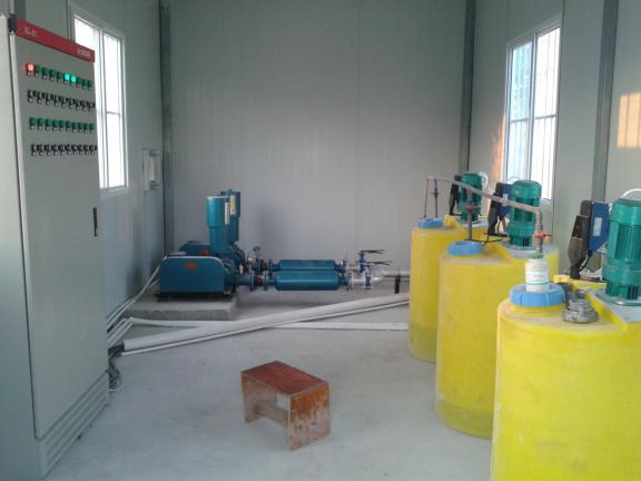 污水處理工程機房